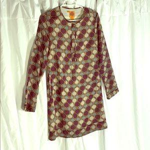 Tory Burch Long Sleeve Dress Size 4
